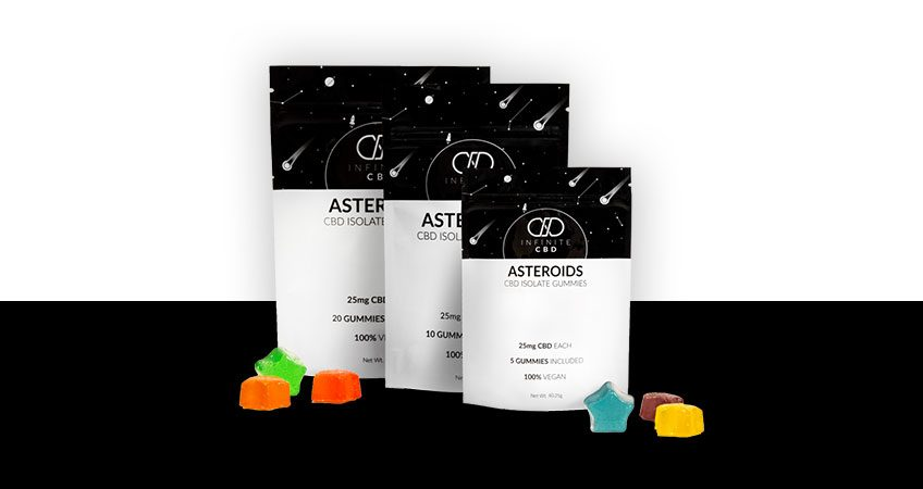 PRODUCT OF THE MONTH: ASTEROID CBD ISOLATE GUMMIES